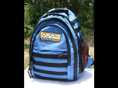 ASAP Survival Backpack Review By Mossberg