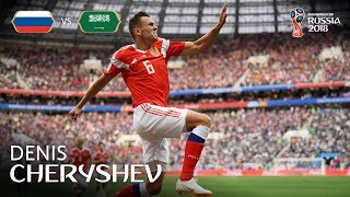 Denis CHERYSHEV (RUS) - GOAL 4 v Saudi Arabia - MATCH 1