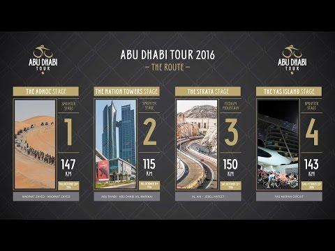 Abu Dhabi Tour 2016 - The Route