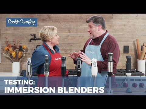 Our Top-Rated Immersion Blender