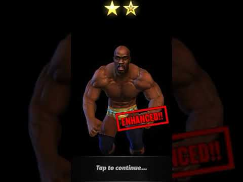WWE CHAMPIONS Evolve 2 STAR SILVER TITUS.O.NEIL FOR 2 STAR GOLD