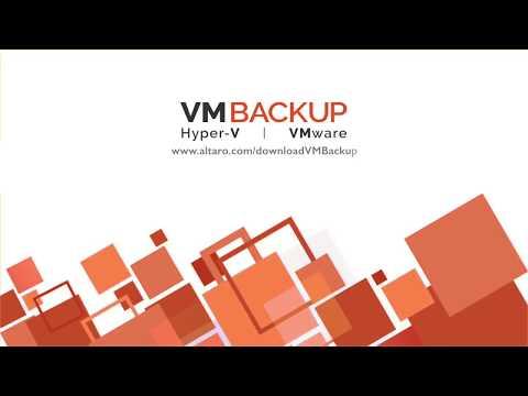 Altaro VM Backup v7 Demo