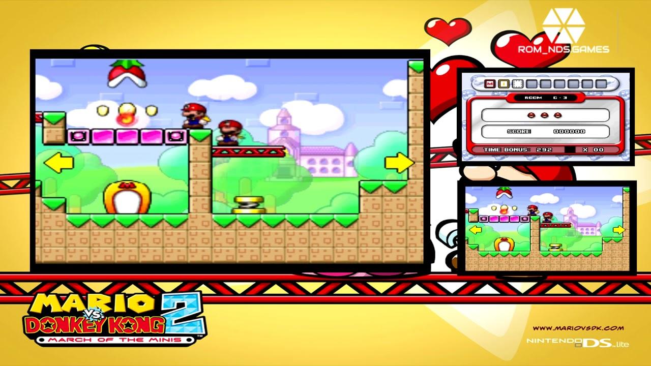 Mario Vs Donkey Kong 2 Rom