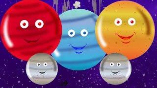 Planètes Chanson | Système solaire pour enfants en bas âge | Planets for Children | Planets Songs