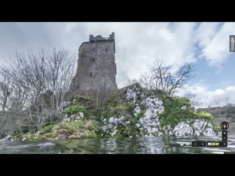 Searching For The Loch Ness Monster? Try Google Street View