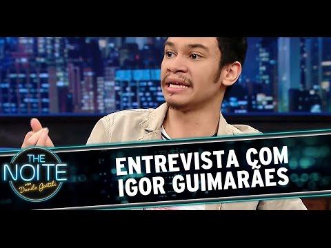The Noite 251114 - Danilo Gentili entrevista Igor Guimarães