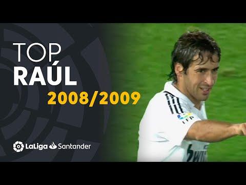 TOP Goles Raúl González LaLiga Santander 2008/2009