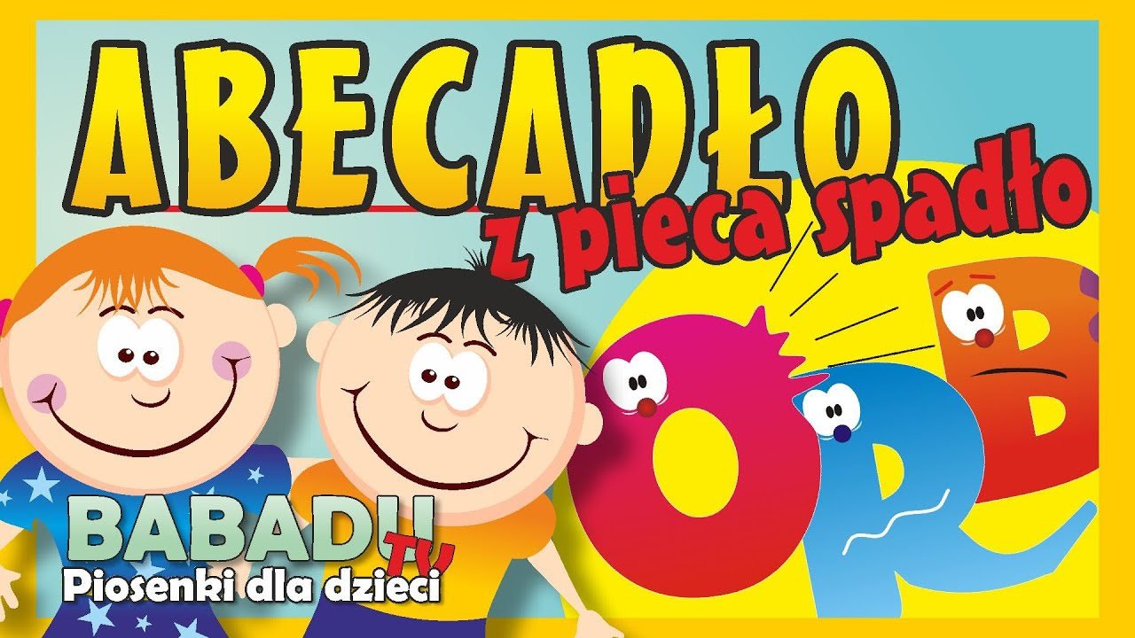 The Alphabet From The Stove Has Dropped Childrens Song Babadu Tv