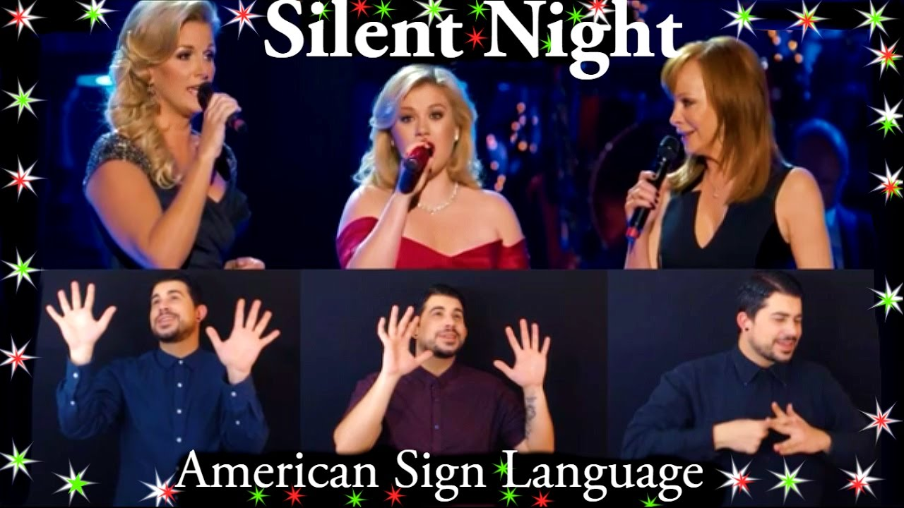 how to say night in sign language