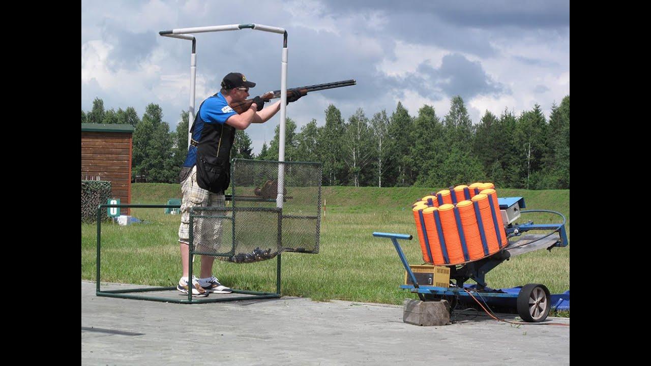 Стендовая стрельба попадание