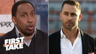 Kliff Kingsbury not as qualified as other candidates for Cardinals job - Stephen A. | First Take