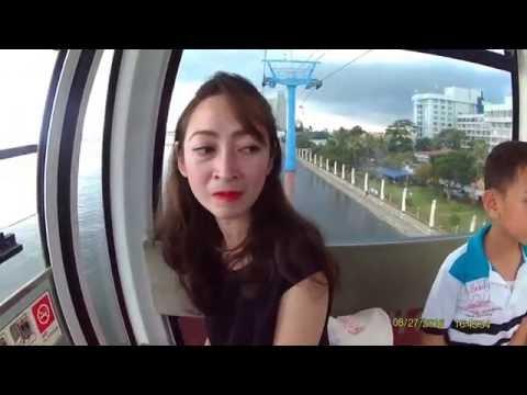 Gondola Ancol, Jakarta, Indonesia. HD 1080p