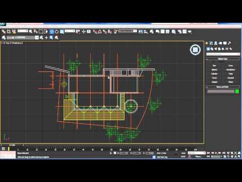 Cómo importar un plano de AutoCAD a 3ds Max_Tutorial No.7