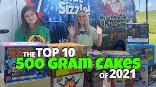 Top 10 Fireworks of 2021 - 500G Multi-Shot Cakes