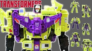 Transformers Devastator Constructicons Decepticons and Devastation video game!