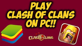 How to Play Clash of Clans on Computer (August 2016)(I hope you enjoyed this video guys and I hope it helped you guys! Please be sure to SMASH that