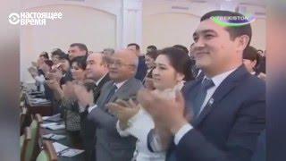 Как хвалят Каримова. Обычный день на телеканалах Узбекистана