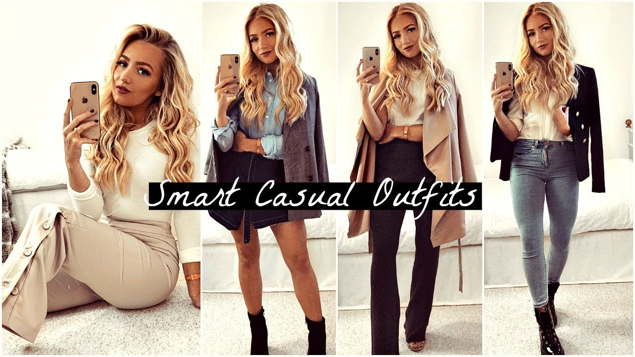 SMART CASUAL OUTFITS 2018 - YouTube