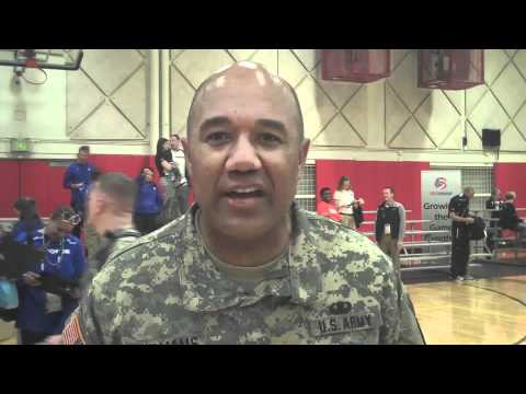 Brig. Gen. Darryl A. Williams, Commander, Warrior Transition Command, Volleyball Shout Out