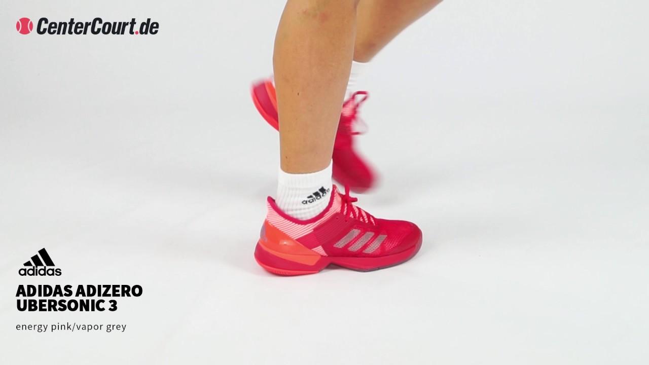 cheap for discount b8ec6 16ad6 adidas adizero Ubersonic 3 Tennisschuh für Damen (pink)
