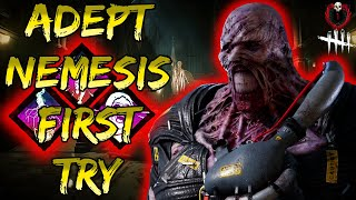Adept Nemesis first try! New DBD killer is here!   Dead by Daylight