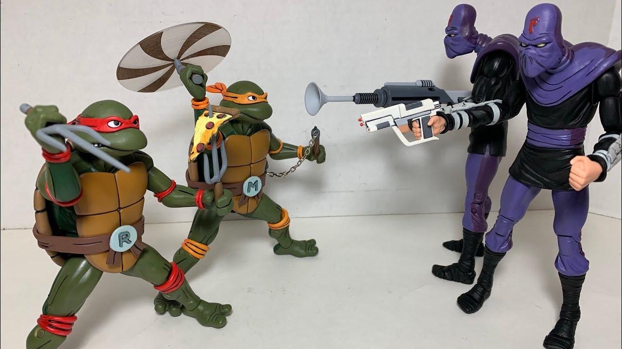 Classic Tartarughe Ninja Action Figure-Michelangelo
