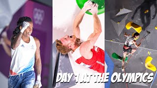 Day 1 at the Games - Men's Qualification, Our Favourites and Speed Climbing Explained