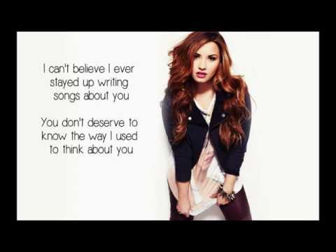 Demi Lovato ft. Cher Lloyd - Really don't care(Lyrics)