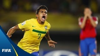Brazil top Spain in heavyweight battle