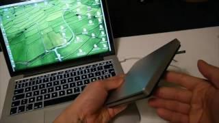 VicTsing Lecteur graveur de CD DVD externe USB Compatible Apple MacBook Pro Air Mac mini
