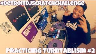 DJ Scratch Challenge | Practicing Turntablism #3 | #LiXxerExperience TV