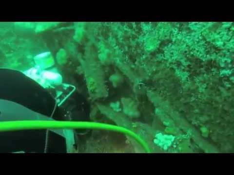 Diving the U-861 Deadlight U-Boat, Malin Head.