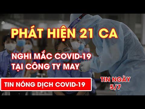 Tiền Giang: Phát hiện 21 ca nghi mắc COVID-19 tại công ty may