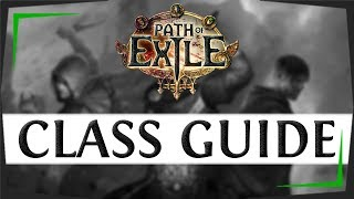 Path Of Exile Classes Guide  2019