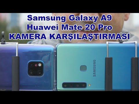 Samsung Galaxy A9 ve Huawei Mate 20 Pro kameralarını karşılaştırdık
