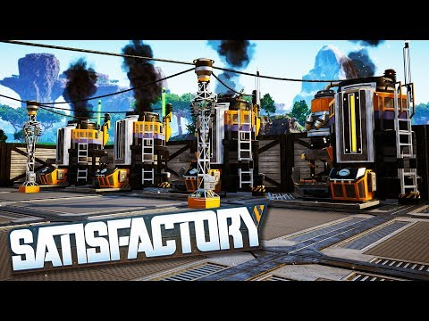 Automating A Biofuel Power Plant Facility in Satisfactory