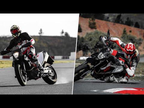 Supermoto-Stlye vs  Hang-Off | KTM  RAW (ft. Jens Kuck)