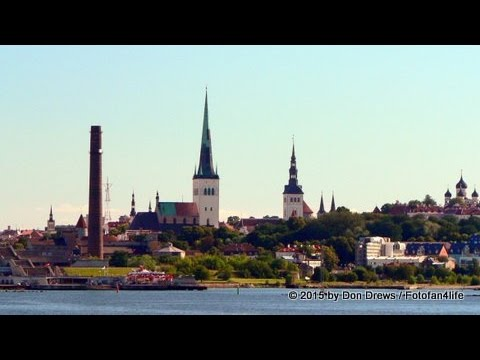 Old Town Tallinn Street Scenes, Estonia