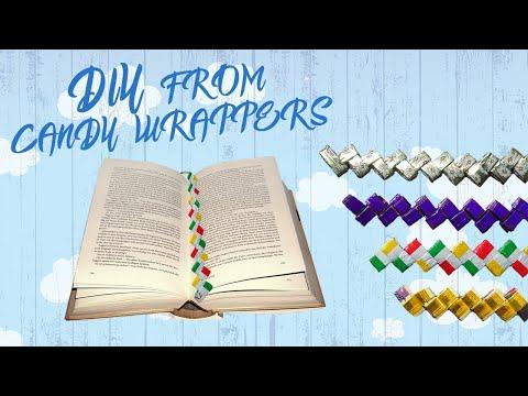 Что можно сделать из фантиков от конфет / What can be made of candy wrappers / DIY | IDEAS