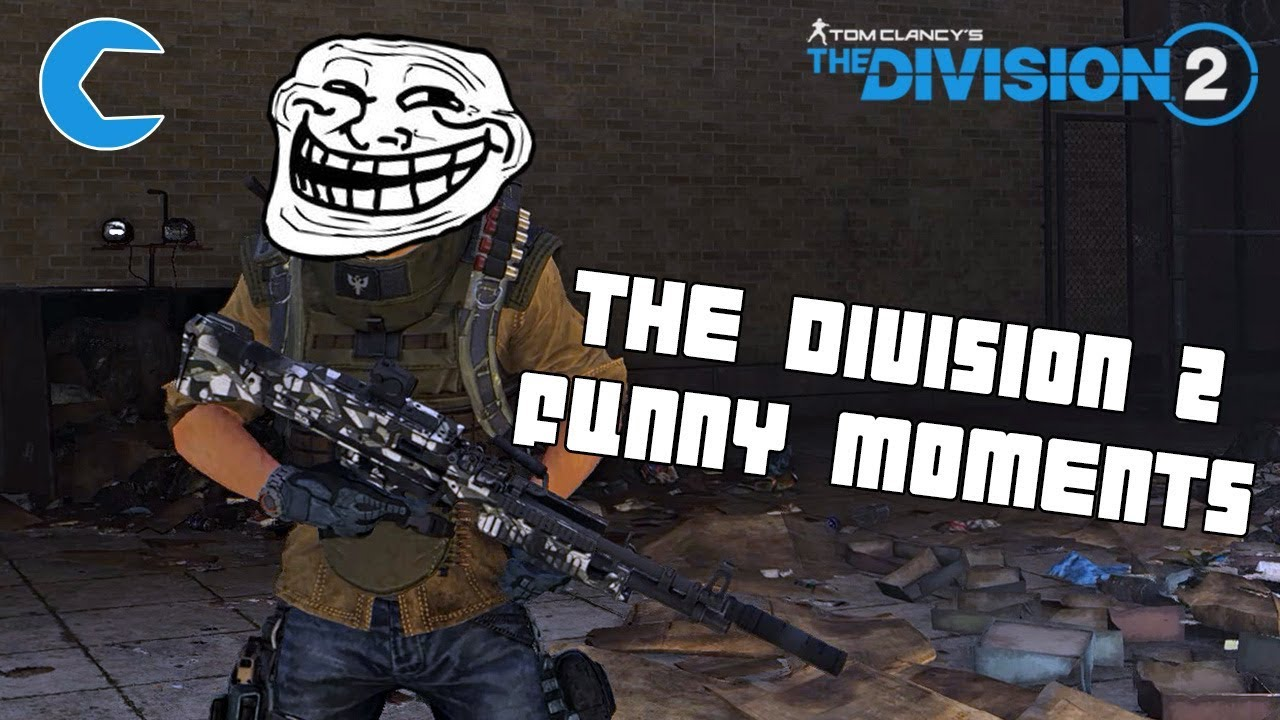 The Division 2 Funny Moments - Creationeer