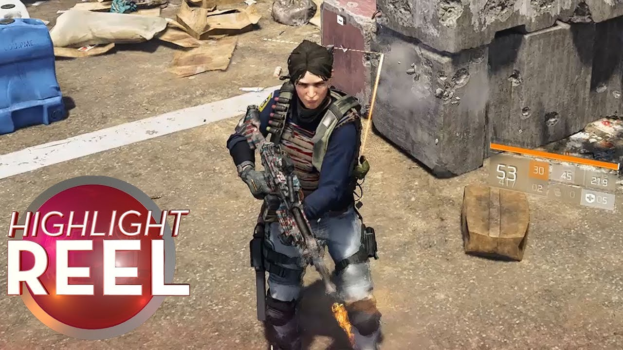 Division 2 Player's Aim Is Off