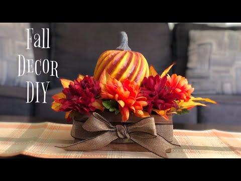 Fall Arrangement | Fall Decor DIY | Fall DIY