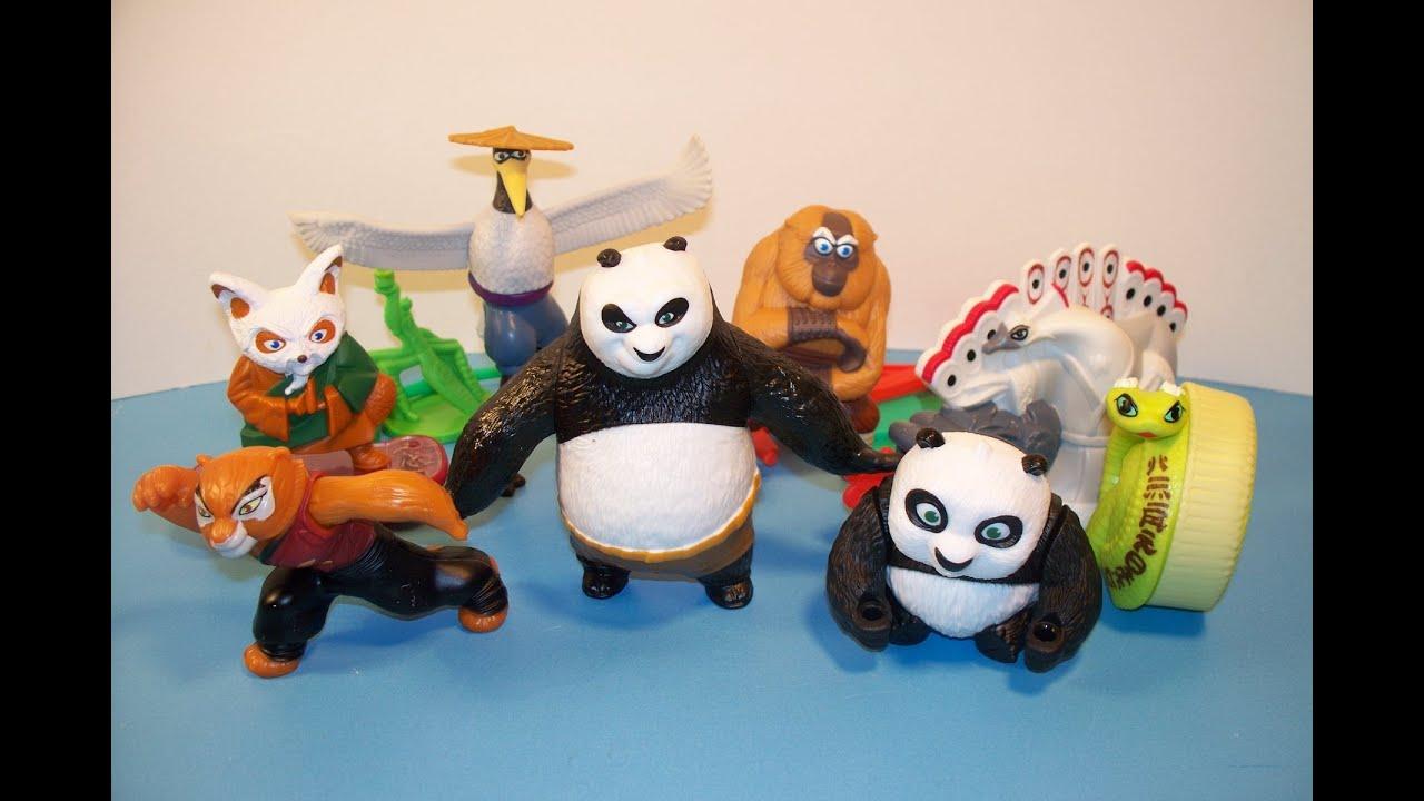 2011 Kung Fu Panda 2 Set Of 8 Mcdonald S Happy Meal Toy S Video