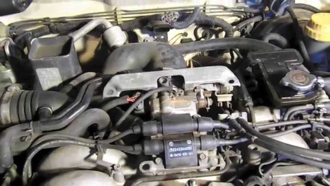 pulling a subaru ej22 turbo engine for an engine swap [ 1280 x 720 Pixel ]