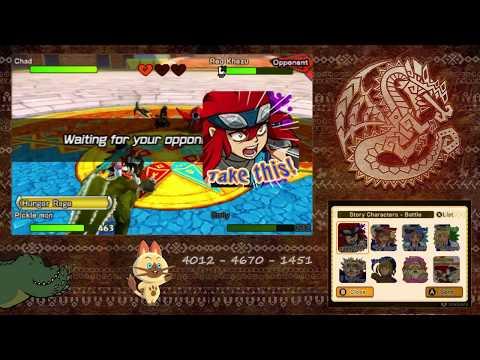 Streaming Monster Hunter Stories Online Battles