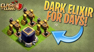 RIDICULOUS AMOUNTS of DARK ELIXIR! Fix that Engineer ep40 | Clash of Clans