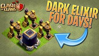 RIDICULOUS AMOUNTS of DARK ELIXIR!  Fix that Engineer ep40 | Clash of Clans