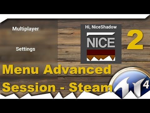 Download Ue4 Gameinstance Create Server Ui Advanced Session
