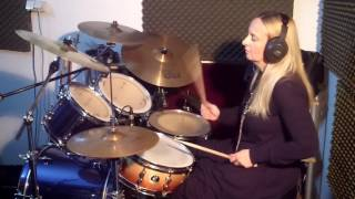 The Cranberries - Zombie (Drum Cover by Laura)