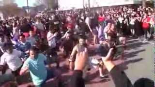 haka mob #GigatownGisborne